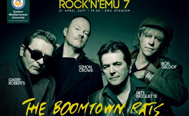 Rock'n EMU'nun bu yılki konuğu Bob Geldof