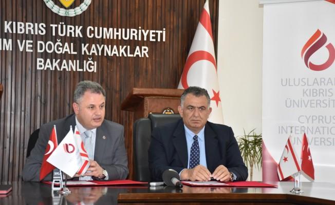 Tarım Bakanlığı ile Kıbrıs Üniversitesi arasında protokol
