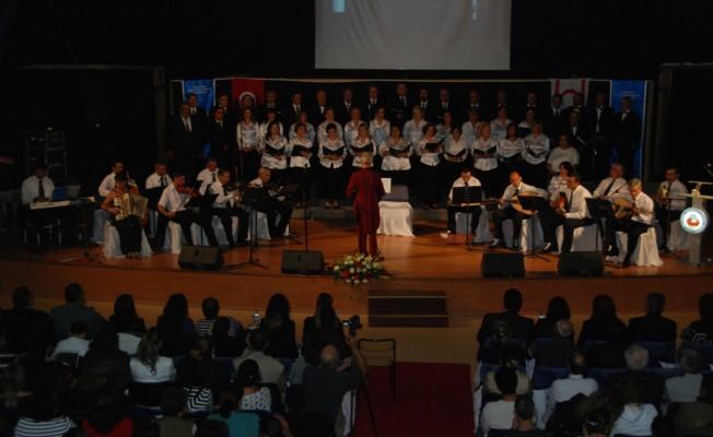 Türk Müziği korosu konser veriyor