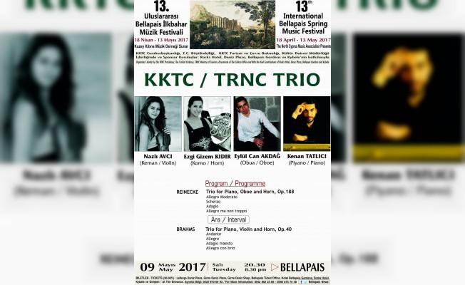 13. Bellapais Müzik Festivali'nde Trio Konseri