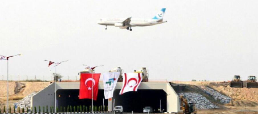 Akıncılar-Ercan yolu açıldı...