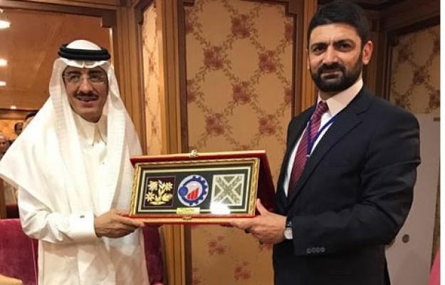 Atun, İslam Kalkınma Bankası Başkanı ile görüştü.