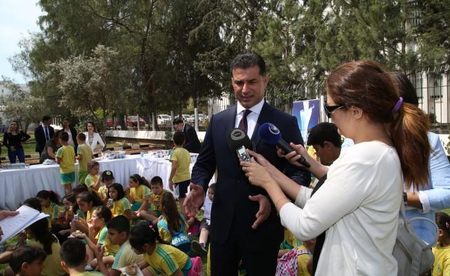 Başbakanlık bahçesinde süt haftası etkinliği…