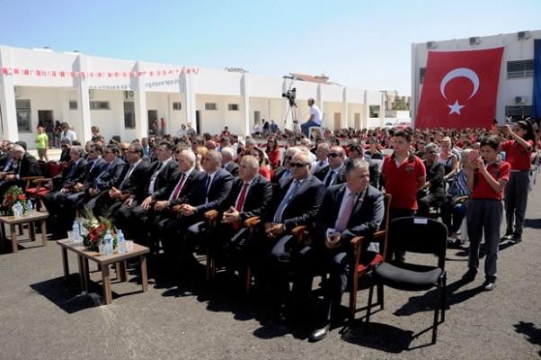 Bayraktar Ortaokulunun açılışı yapıldı