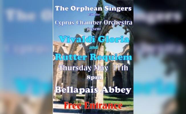 Bellapais Manastırı'nda klasik opera konseri