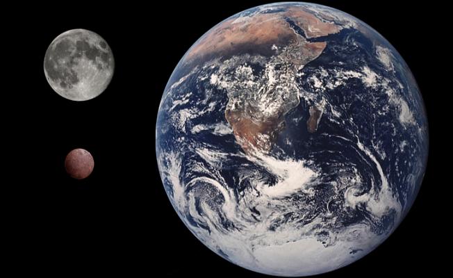 Cüce gezegenin yörüngesinde bir uydu keşfedildi.