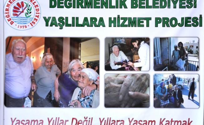 Değirmenlik Belediyesi'nden yaşlılara yemek