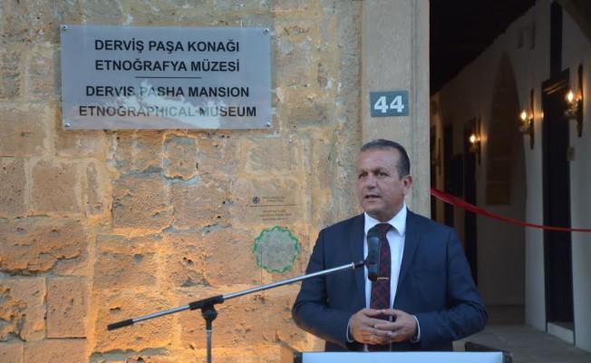 Derviş Paşa Konağı Etnoğrafya Müzesi açıldı...