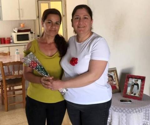 DP Güzelyurt Kadın Örgütü anneleri ziyaret etti