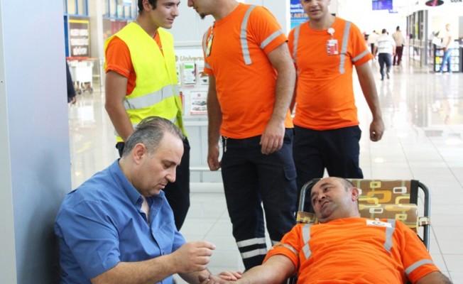 Ercan'da kan bağışı kampanyası düzenlendi