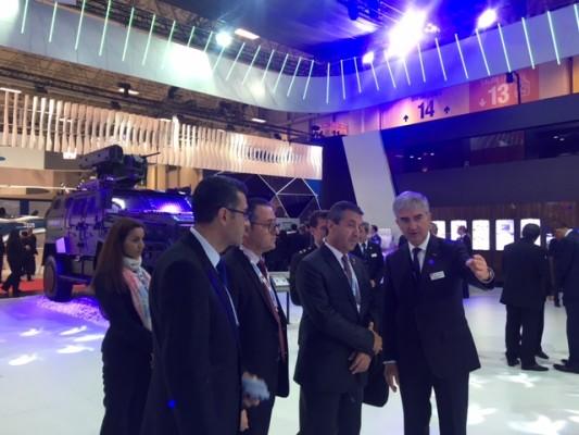 """Ertuğruloğlu, """"IDEF Uluslararası Savunma Sanayi Fuarı""""na katıldı"""