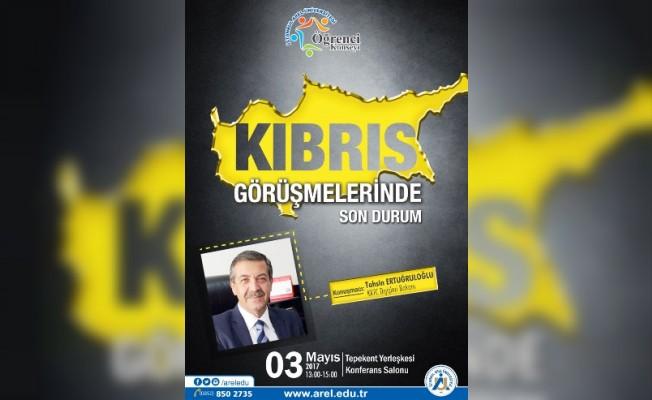 Ertuğruloğlu İstanbul'da konferans verecek