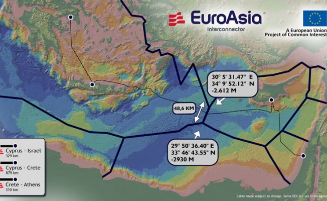 """Euroasian Interconnector"" son aşamada"
