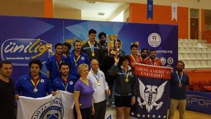GAÜ Masa tenisi takımı Türkiye 3'ncüsü oldu,