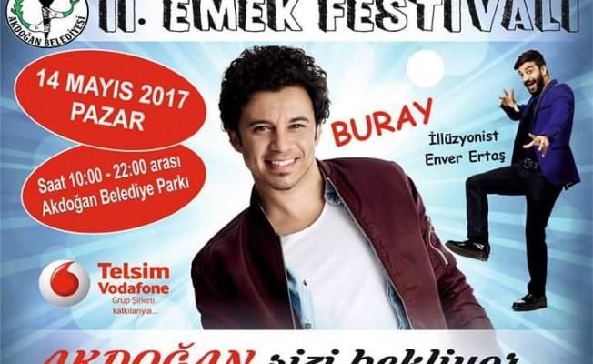 """""""II. Emek Festivali"""" pazar günü yapılacak"""