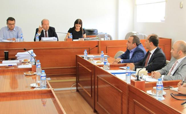 Komitenin gündeminde Bilişimle ilgili yasa ve Ercan Havaalanı var