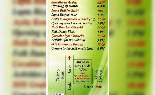 Lapta'da Agro-Eko pazarı etkinliği