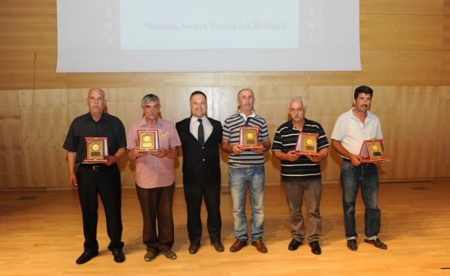 Sivil Savunma Halk Örgütü mükellefleri hizmet belgelerini aldı