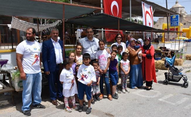 Sucuoğlu Dipkarpaz'da Festivale katıldı