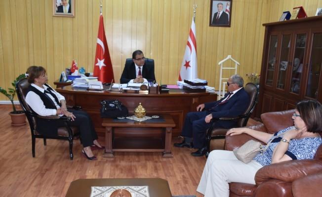 Sucuoğlu, Engelliler Federasyonu üle görüştü