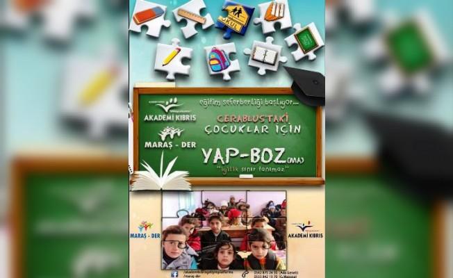 """""""Suriye için Eğitim Seferberliği"""" başlatıldı"""