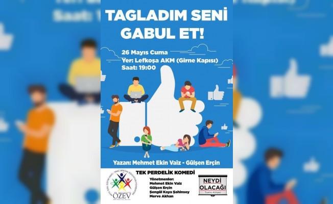 """""""Tagladım Seni Gabul Et"""" oyunu AKM'de sahnelenecek"""