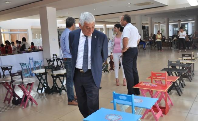 Yeşilyurt Özel Eğitim Merkezi'nin sergisi açıldı