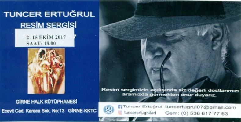 Tuncer Ertuğrul Girne ve Lefkoşa'da sergi açıyor