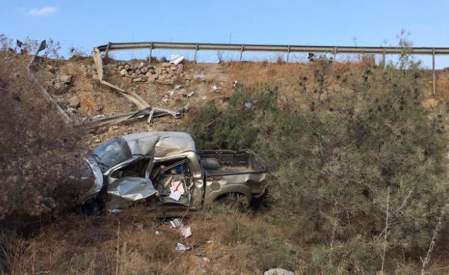 Yine Girne-Değirmenlik yolunda kaza...