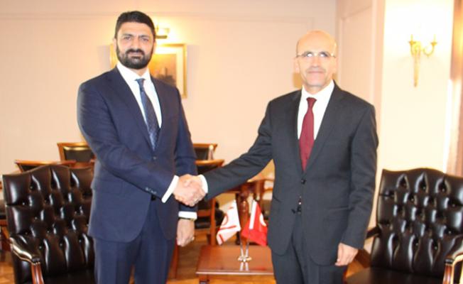 Atun, Ankara'da Şimşek ile görüştü