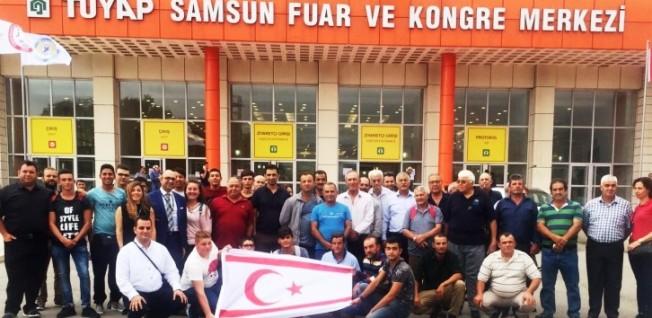 Çiftçiler Birliği, Samsun'da Fuara katıldı