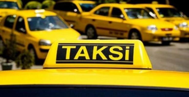 Taksiciler pazartesi eyleme gidiyor....