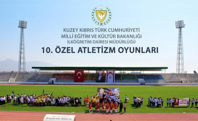 10. Özel Atletizm Oyunları 3 Mayıs'ta
