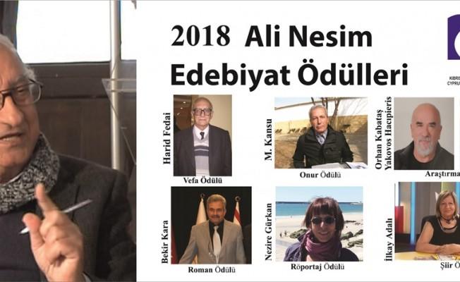 """""""Ali Nesim Edebiyat Ödülleri"""" 10 Mayıs'ta"""