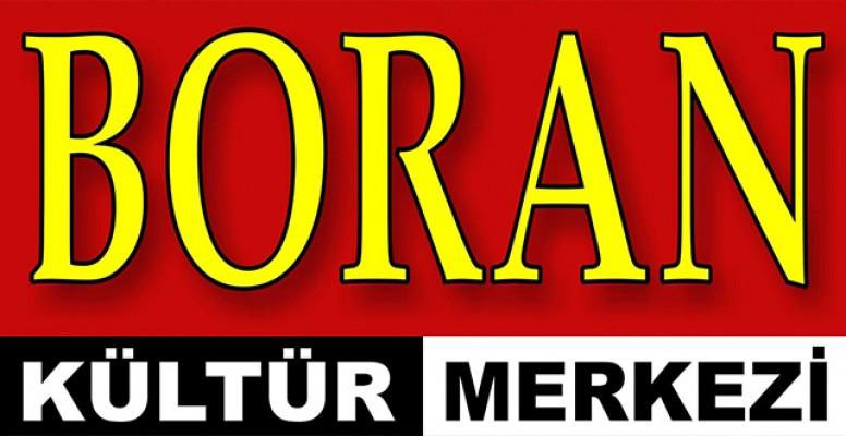 Boran Kültür Merkezi ABD'yi kınadı