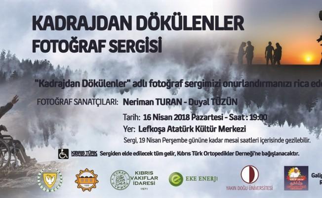 """""""Kadrajdan Dökülenler"""" fotoğraf sergisi pazartesi açılacak"""