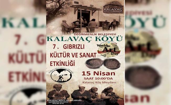 Kalavaç Köyü etkinlikleri Pazar günü