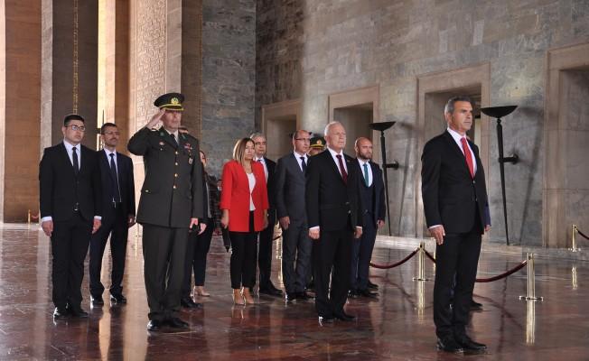Meclis Divan Heyeti'nin Ankara temasları sürüyor...