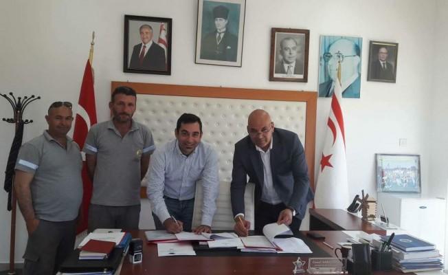 Mehmetçik Belediyesi ile Dev-İş arasında sözleşme