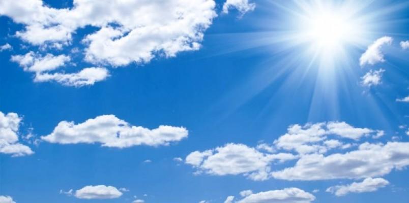 Önümüzdeki hafta hava parçalı bulutlu olacak