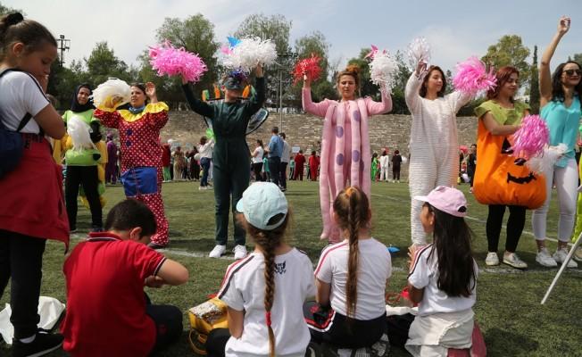 """""""Rüzgar Gülü Çocuk Festivali"""" gerçekleştirildi"""