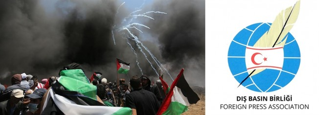 Dış Basın Birliği İsrail'i kınadı