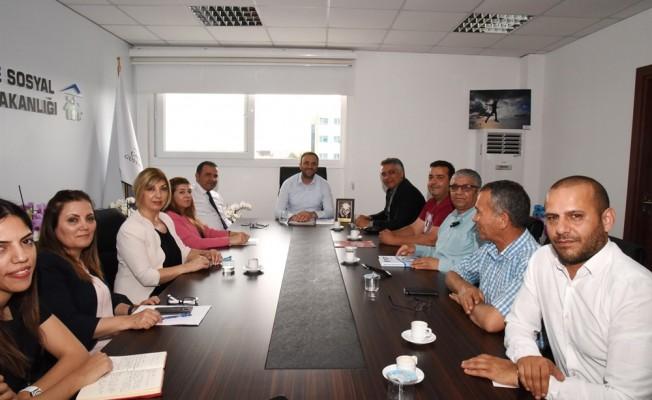 Esnaf ve Zanaatkarlar Odası, Çalışma Bakanlığı ile görüş alışverişinde bulundular