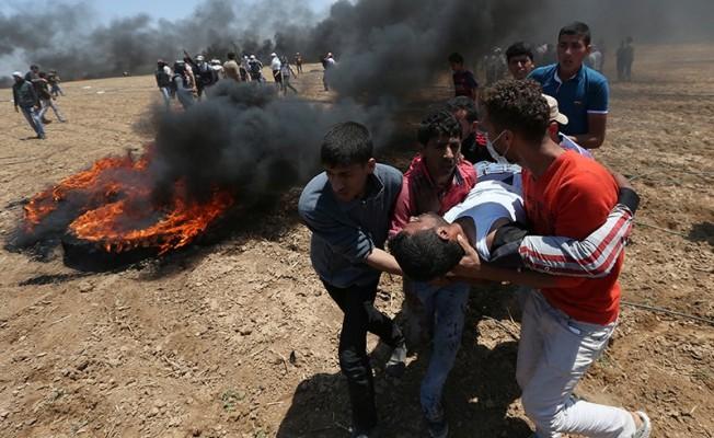 Gazze'de İsrail katliamı!