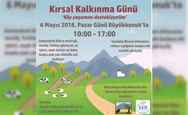 Kırsal Kalkınma Günü etkinliği 6 Mayıs'ta