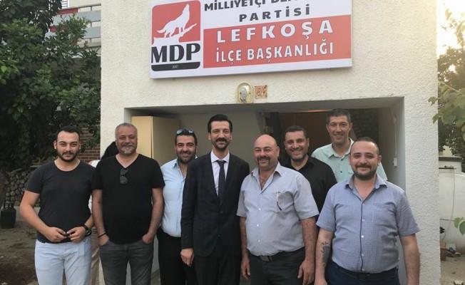 MDP Lefkoşa İlçe Merkezi Binası Açıldı
