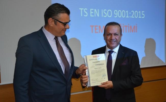 Turizm Bakanlığı personeline eğitim verildi