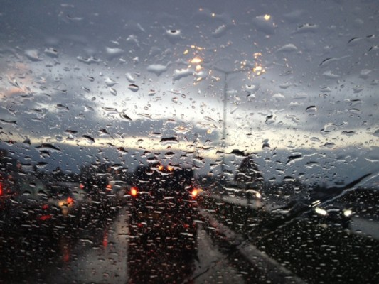 Yağmur geliyor...