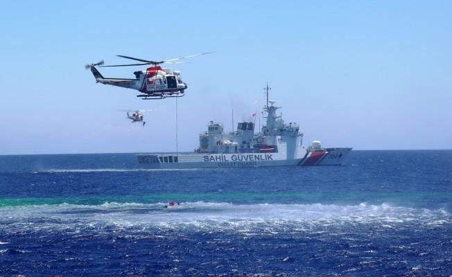 Caner Gönyeli Tatbikatı'nın Deniz Safhası tamamlandı