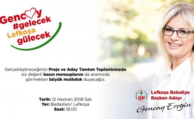 Eroğlu yarın adaylarını tanıtacak